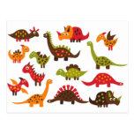 Dinosaur1 Tarjeta Postal