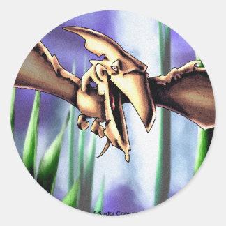 Dinosaur3 Classic Round Sticker