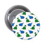 dinosaur 2 inch round button