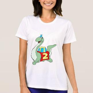 Dinosaur 2nd Birthday Gifts T Shirts