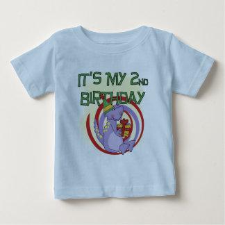 Dinosaur 2nd Birthday Tshirts and Gifts