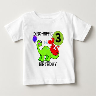 Dinosaur 3rd Birthday Tshirts and Gifts