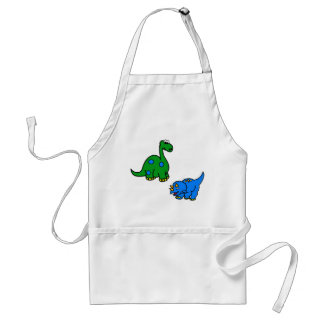 dinosaur adult apron