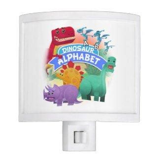 Dinosaur Alphabet Night Light