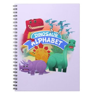 Dinosaur Alphabet Notebook