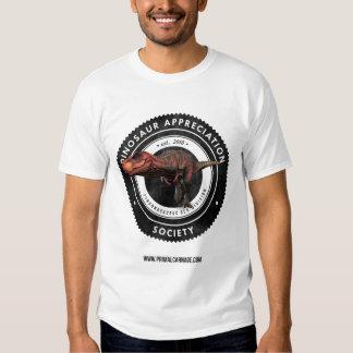Dinosaur Appreciation Society T Shirt