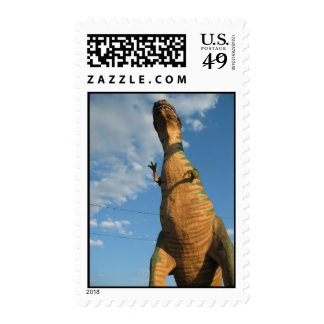Dinosaur ATTACK! Postage