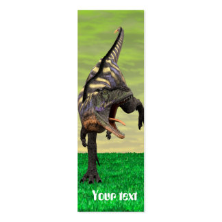 Dinosaur Aucasaurus Double-Sided Mini Business Cards (Pack Of 20)