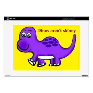 Dinosaur Baby What's The Skinny? Laptop Skins