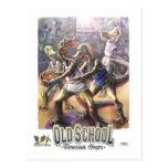 Dinosaur Basketball Post Cards