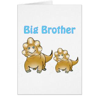 dinosaur big brother greeting cards