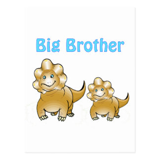 dinosaur big brother postcard