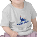 dinosaur big brother to be NEW blue Tees