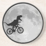 Dinosaur Bike & Moon Drink Coaster