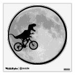 Dinosaur Bike & Moon Wall Skin