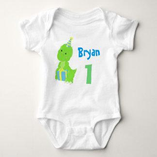 Dinosaur Birthday Baby Bodysuit