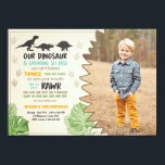 "Dinosaur birthday invitation Dinosaur Party Invite<br><div class=""desc"">♥ A perfect way to invite your guests to your little one&#39;s birthday party! Dinosaur birthday party theme.</div>"