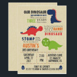 "Dinosaur Birthday Invitations<br><div class=""desc"">Dinosaur Birthday Invitations</div>"