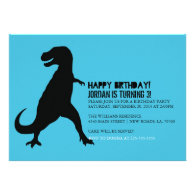 Dinosaur Birthday Party | T-Rex Personalized Invitations