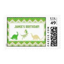 Dinosaur Birthday Postage