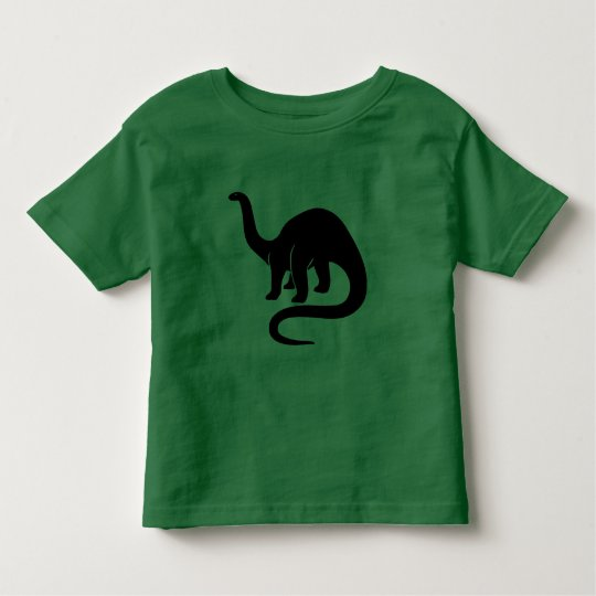 Dinosaur -  Black Toddler T-shirt