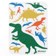 Dinosaur Blanket Baby Blanket