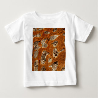 Dinosaur bone under the microscope baby T-Shirt
