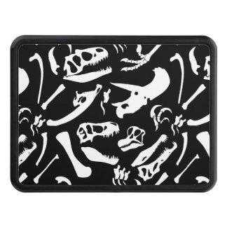 Dinosaur Bones (Black) Hitch Cover