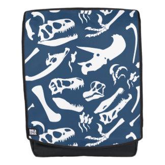 Dinosaur Bones (Blue) Backpack