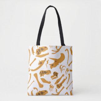 Dinosaur Bones Tote Bag