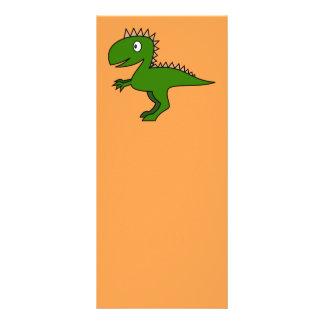 Dinosaur Bookmark Rack Card