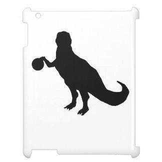 Dinosaur Bowler iPad Cases