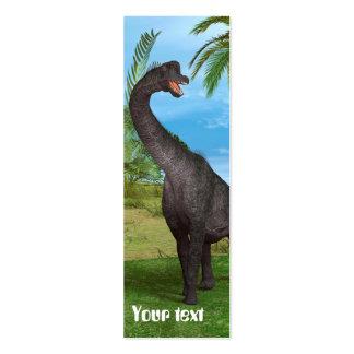 Dinosaur Brachiosaurus Mini Business Card