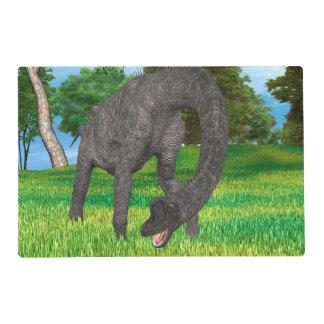 Dinosaur Brachiosaurus Placemat