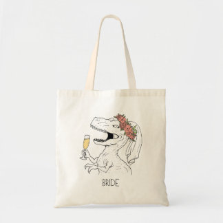 Dinosaur Bride Tote Bag