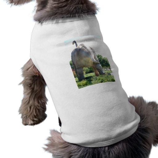 Dinosaur Brontosaurus Doggie T-shirt