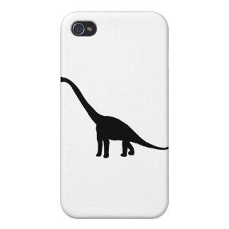 Dinosaur Brontosaurus Silhouette Case For iPhone 4