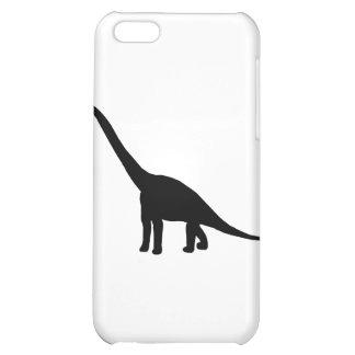 Dinosaur Brontosaurus Silhouette iPhone 5C Case