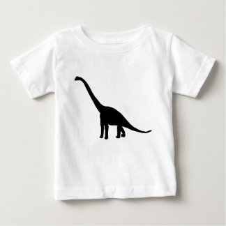 Dinosaur Brontosaurus Silhouette Tee Shirt