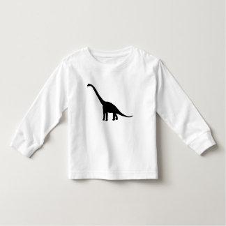 Dinosaur Brontosaurus Silhouette Toddler T-shirt