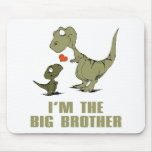 Dinosaur Brothers Mouse Pad