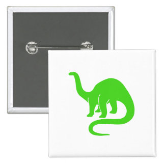 Dinosaur Button Light Green