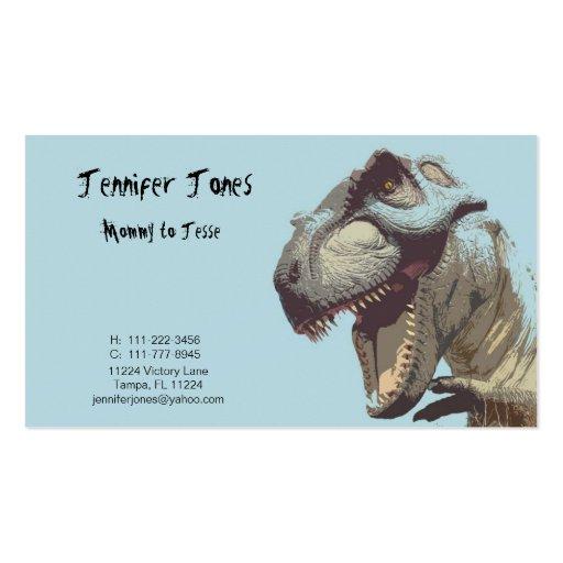 Dinosaur Calling Card Business Card