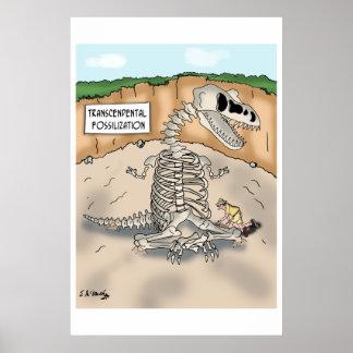 Dinosaur Cartoon 9364 Poster