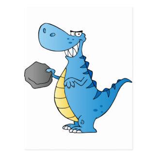 Dinosaur  Cartoon Character Post Card