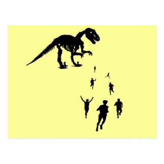 Dinosaur Chasey - Tag! You're IT! Post Cards