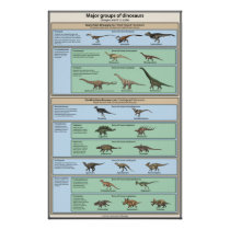 Dinosaur Classification Simplified Poster