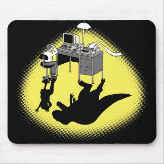 Dinosaur Computer Mousepad