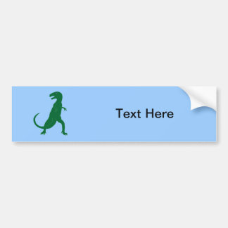 Dinosaur Cretaceous Tyrannosaurus Science Animal Bumper Sticker