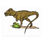 Dinosaur Cretaceous Tyrannosaurus Science Animal Postcard